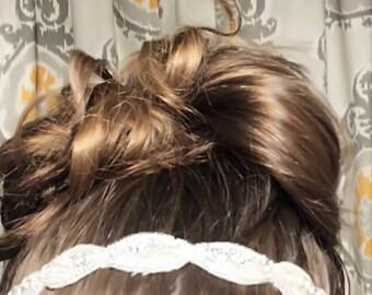 Bride or bridesmaid headband