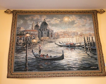 Beautiful Wall tapestry wall hanging decoration with rod