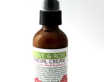 Olive & Rose Moisturizing Facial Cream