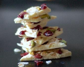 White Christmas Chocolate Bark - Perfect Stocking Filler