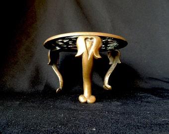 Art Nouveau Brass Trivet