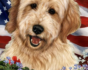 Goldendoodle House Flags