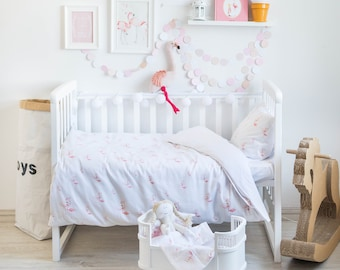 Baby Bedding, Crib Bedding, Girl Bedding, Girl Crib Bedding, Nursery Bedding, Bedding Set, Duvet Cover, Toddler Bedding, Toddler Duvet Cover