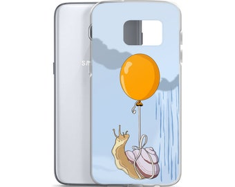 Inches Ahead of the Storm Snail Samsung Case