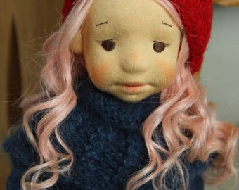 """Loulou waldorf inspired doll, 15,75""""(40cm)"""