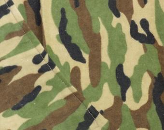 Camouflage Burp Cloth