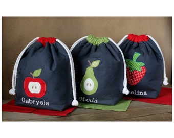 MTO Personalized insulated lunch sack
