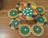 Mehndi Decoration Items : Items similar to mehndi plates henna wedding decoration