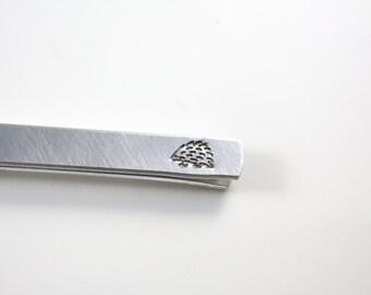 Hedgehog Tie Bar - Hedgehog Tie Clip - Hidden Message - Tie Bar - Tie Clip - Hedgehog Gift - Hedgehog Accessory - Secret Message Tie Bar
