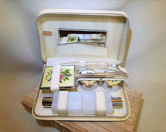 1950s Ladies Travelling Set - Pristine Condition