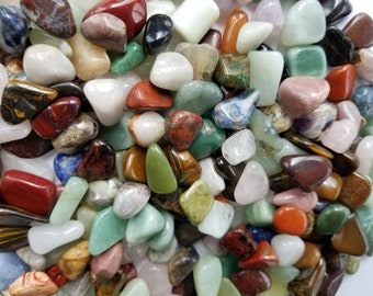 Assorted Gemstones/Crystals - Tumbled