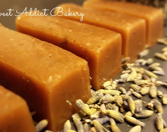 VANILLA LAVENDER Caramels - A Peerless Flavor and Aroma - True Artisan Treat Great for WEDDINGS, Bridal, Engagement, Baby Showers and more