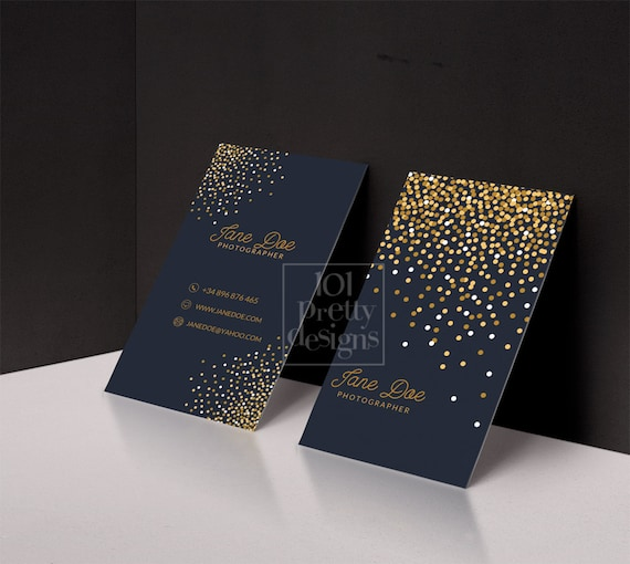Gold glitter business card template gold printable business colourmoves