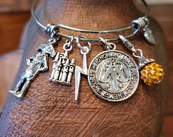 Harry Potter Fan Charm Bracelet, Ministry of Magic, Dobby