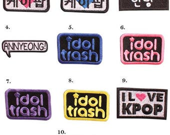 Kpop Patches #2