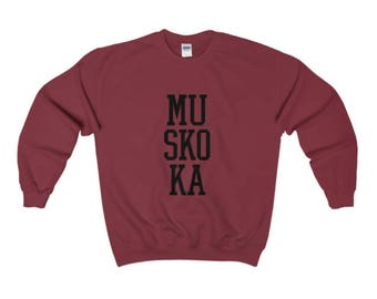 Muskoka Heavy Crewneck Sweater (16 Colours)
