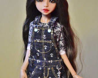 Realistic overalls for Poppy Parker , Dynamit Girls, dolls of milim studio