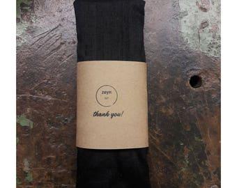 UNSCENTED Black Silk Eye Pillow - Microwaveable - Yoga Accessories ,Meditation,Sleep,Eye,Relax,Calm, Yoga Gift, Gift for Yoga Lover
