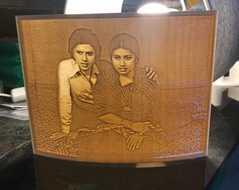 3D Printed Lithophane