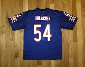 vintage brian urlacher jersey bears reebok youth size large