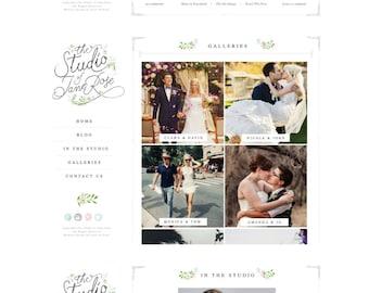 Custom Website Design, Blog & Portfolio Package custom photography website, custom portfolio website, custom blog, custom wordpress website