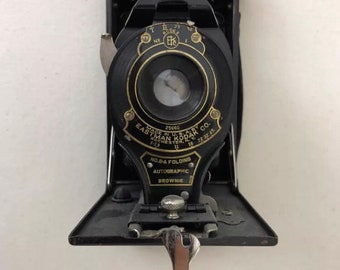 Vintage Kodak Brownie | Folding Camera | Vintage Antique Camera