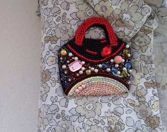 A bag,  Bag Brooch
