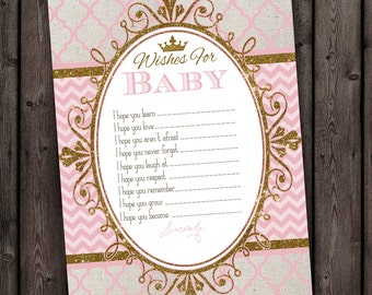 wishes for baby, baby shower cards, printable, princess baby shower games, princess baby shower games, wishes for baby cards printable