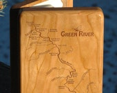 Fly Box-GREEN RIVER MAP S...