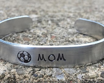 Soccer Mom Bracelet, Soccer Ball, Sports Mom