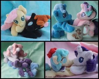 My Little Pony: Friendship is Magic - Custom *MADE TO ORDER* Baby Beanbag Plush Commission