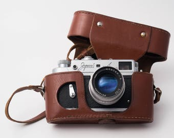 Zorki 4 rangefinder camera with  Jupiter 8 f2/50mm, M39 lens,  made in USSR