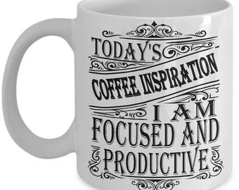 Custom Coffee Inspiration I Am Collection Coffee Mug Gift