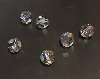 Swarovski 6mm Round Crystal Paradise Shine Beads 12 pc