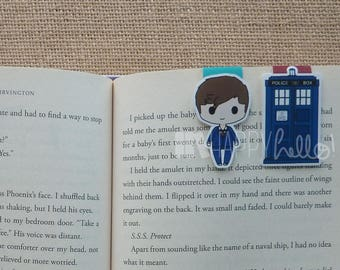 Magnetic Bookmarks • Time Traveling Doctor
