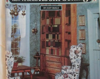 "DIY Vintage "" Miniature Furniture and Room Settings""  softbound Craft Book 72 pages used good condition"