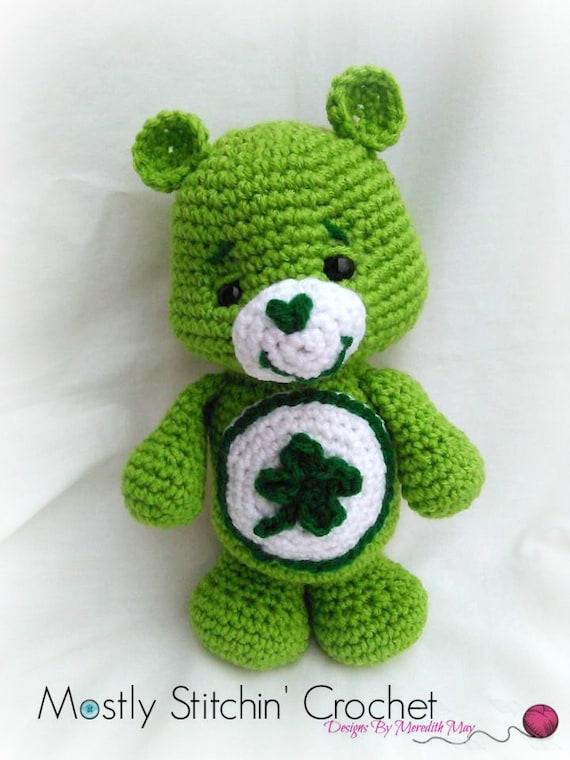 Care Bear Good Luck Bear Crochet Pattern Pdf