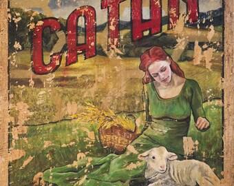 Settlers of Catan - Vintage Travel Poster - Art Print