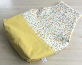 Sac à projet tricot ou crochet nomade - Pochon pour vos encours