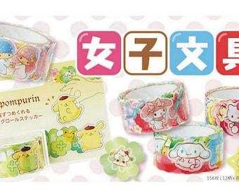 Sanrio Roll Stickers, Sanrio Stickers, Hello Kitty Stickers, My Melody Stickers, Little Twin Stars Stickers
