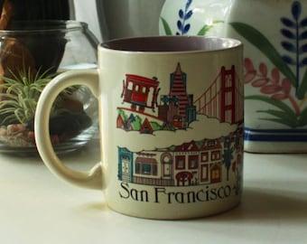 Vintage San Francisco Souvenir Mug