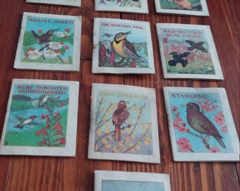 John H Eggers Miniature Bird Books