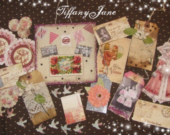 Paper Doll Ella and Gathered Goods Papier Set