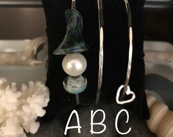 Glass Bead Bangle Set