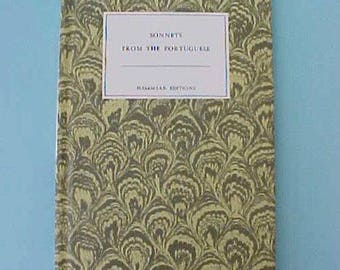"Charming Edition of ""Sonnets From the Portuguese"" by Elizabeth Barrett Browning"