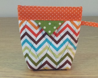 Quilted Snap Bag (SB619) Zig Zag