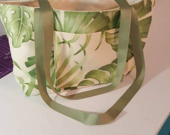 Palm tree bag