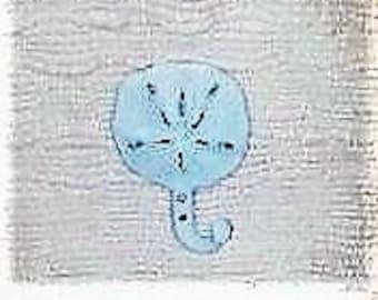 Sand Dollar Cast Iron Towel Hook, Beach Decor, Home Decor, Shabby, Chic, Beach Color, Nautical Decor, Cottage Decor, Shell, Beach Cottage,