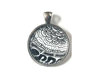 Keyring Charm: Handmade Keychain Pendant