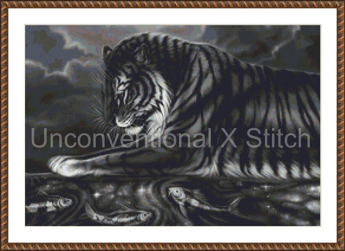 Tiger Cross Stitch Pattern